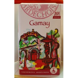 Gamay rouge    5 litres et 10 litres