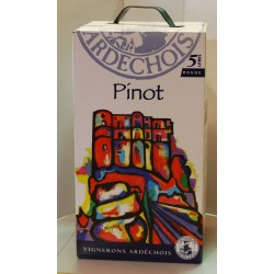Pinot rouge    5 litres